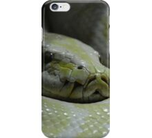 Yellow & White Python Case iPhone Case/Skin