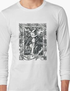 Orpheus with his lute made trees Long Sleeve T-Shirt