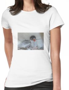 Penguin - Gentoo Chick Womens Fitted T-Shirt