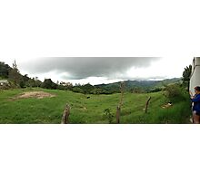 Costa Rican Countryside Photographic Print