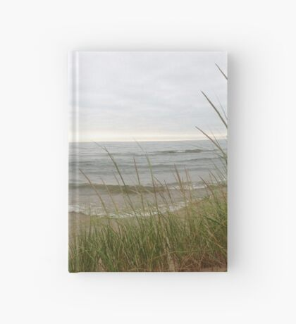Blades of Grass by the Shore Hardcover Journal