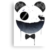 Dark Panda Canvas Print