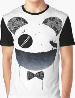 Dark Panda Graphic T-Shirt