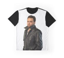 Vintage Leather with Benjamin Joseph Graphic T-Shirt