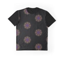neon mandala  Graphic T-Shirt