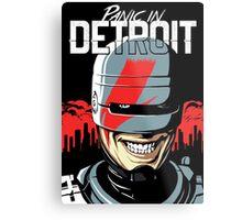 Panic in Detroit Metal Print