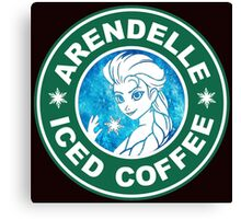 ARENDELLE ICED COFFEE  Canvas Print