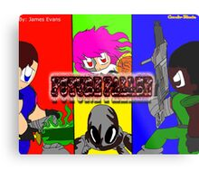 Future Fallen - Rebellion Metal Print