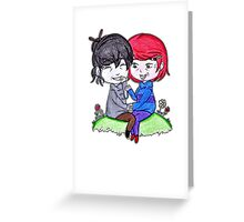 Do you remember our first time? Greeting Card
