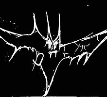 Vampire goth bat by kristiebenedict