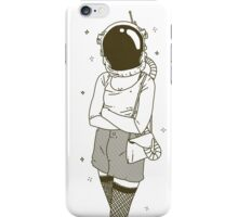 The Woman In Space iPhone Case/Skin