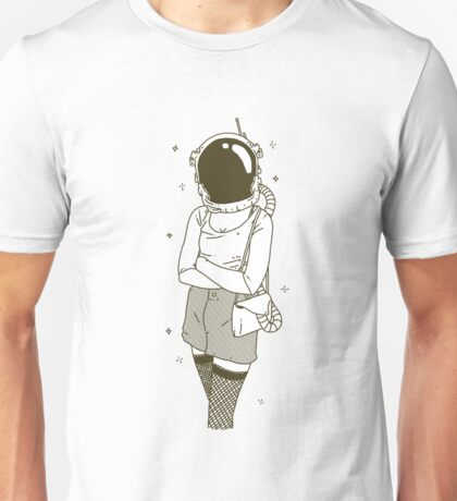 The Woman In Space Unisex T-Shirt