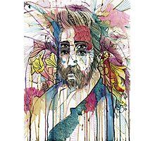 Bearded Double  Photographic Print