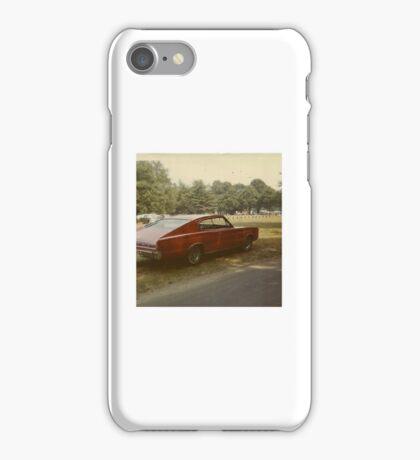 1970s muscle car  iPhone Case/Skin
