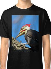 Pileated Woodpecker Closeup Classic T-Shirt