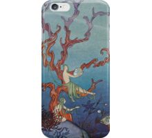 Proserpina and the Sea Nymphs iPhone Case/Skin