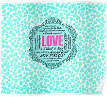 Love Notebook Poster