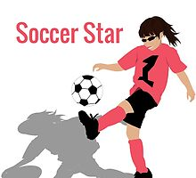 Soccer Girl (Mom) by NydiaSRobles
