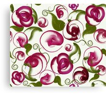 New Love: Modern Roses by Alma Lee Canvas Print