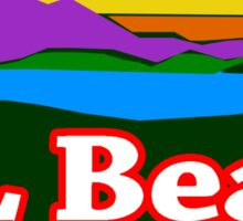 L.L. Bean Mountain Logo Sticker