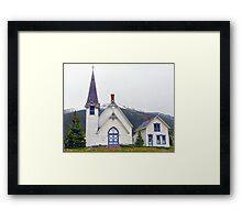 Silverton, Colorado, Congregational Church Framed Print