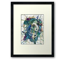 Shards & Pieces Framed Print