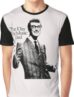 BUDDY HOLLY : THE DAY THE MUSIC DIED Graphic T-Shirt