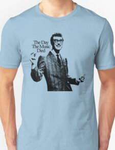 BUDDY HOLLY : THE DAY THE MUSIC DIED T-Shirt