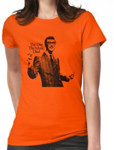 BUDDY HOLLY : THE DAY THE MUSIC DIED Womens Fitted T-Shirt