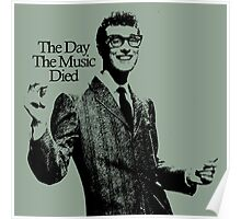 BUDDY HOLLY : THE DAY THE MUSIC DIED Poster