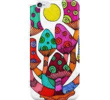 Full Moon Mushrooms iPhone Case/Skin