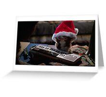 Gizmo Christmas Card Greeting Card