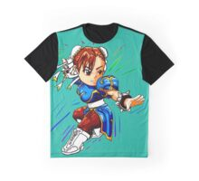 STREET FIGHTER : CHUN LI Graphic T-Shirt