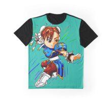 STREET FIGHTER : CHUN LI Graphic T-Shirt