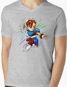 STREET FIGHTER : CHUN LI Mens V-Neck T-Shirt