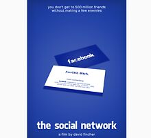 The Social Network film poster Classic T-Shirt