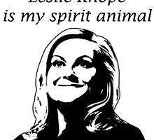 Leslie is my spirit animal by Atarikat