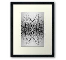 Fractal Trees Framed Print