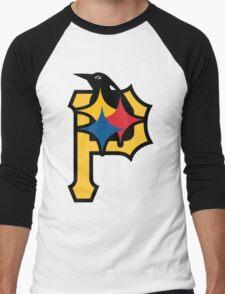Pittsburgh Pirates Good Logo Men's Baseball ¾ T-Shirt