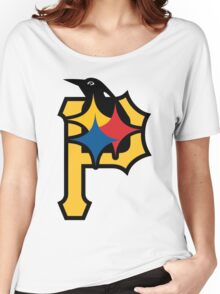 Pittsburgh Pirates Good Logo Women's Relaxed Fit T-Shirt