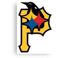 Pittsburgh Pirates Good Logo Canvas Print