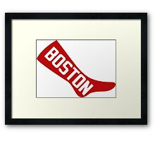 Boston Red Sox Strongest Team Framed Print