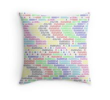 R.G.B.C.M.Y.K.. Throw Pillow