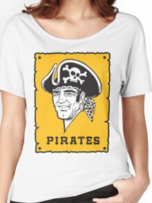 Pittsburgh Pirates Captains Women's Relaxed Fit T-Shirt