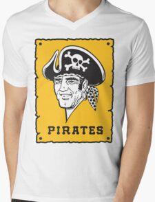 Pittsburgh Pirates Captains Mens V-Neck T-Shirt