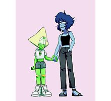 steven universe - peridot and lapis Photographic Print