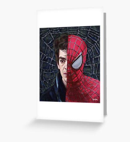 Spiderman's Web Greeting Card