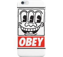 OBEY - Three eyed guy iPhone Case/Skin