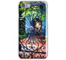 Southern Style Wrought Iron Gate iPhone Case/Skin