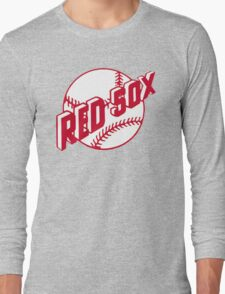 Boston Red Sox Old Logo Long Sleeve T-Shirt